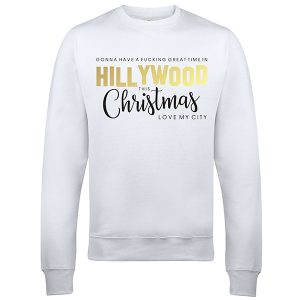 Aanbieding Foute Kersttrui.Customizedwear Nl Hillywood Christmas Red