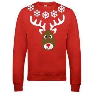 Aanbieding Kersttrui.Customizedwear Nl Elfie Red